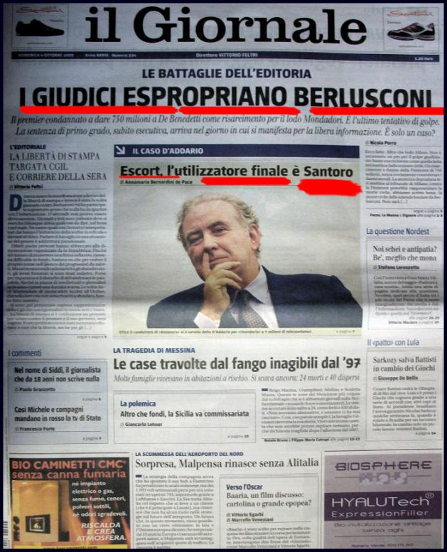 Giornale post Manifestazione Stampa - nonleggerlo